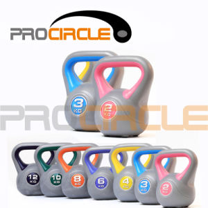 Plastic with Sand Thrive Kettlebell (PC-KB3005) pictures & photos