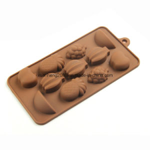 100% Food Grade Pastry Chocolate Silicone Molds pictures & photos