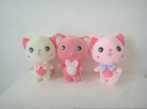 Lifelike Animals Soft Plush Toy Mini Stuffed Toy Cat pictures & photos