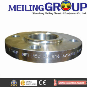 Flat Flanges Weld on Pipes Pn16-En1092-1-DIN2502 pictures & photos