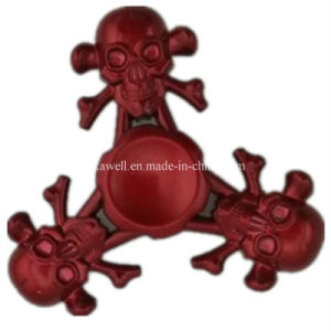 2017 Factory Metal Skeleton Fidget Spinner Hand Spinner pictures & photos