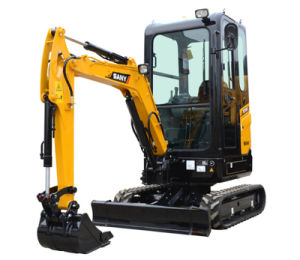 Sany Sy16-2 1.5 Tons Construction and Garden Usege Mini Hydraulic Crawler Excavator pictures & photos