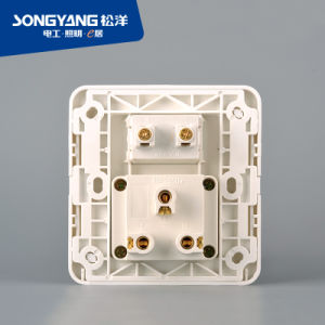 Flame Retardant PC Plastic Ordinary Socket pictures & photos