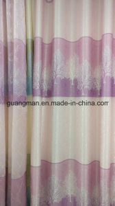 Curtain Window Curtains Jacquard Blackout Weave Curtain Fabric pictures & photos