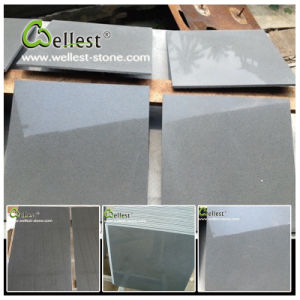 China Natural Stone Grey Basalt/Bluestone Polished Basalt Tile pictures & photos