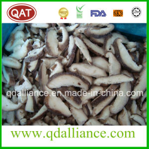 IQF Sliced Shiitake Mushroom with Gap Certificate pictures & photos