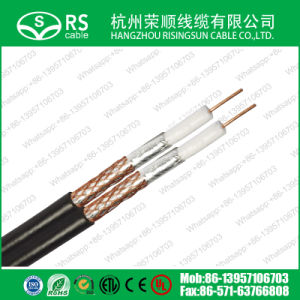 RG6 Twin Coaxial Cable Easy Installtion for Satellite System pictures & photos
