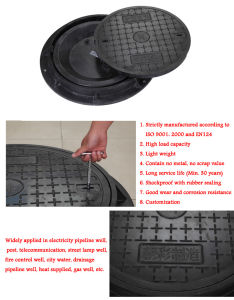 Hot Sale 20t Plastic Water Well Covers