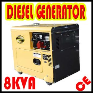 8kVA 3-Phase Silent Generator / Diesel Portable Soundproof Generator pictures & photos