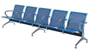 Popular Blue Steel 5-Seater Airport Bench Waiting Chair (YA-21) pictures & photos
