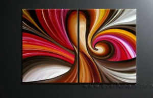 Abstract Oil Painting on Canvas (XD2-022) pictures & photos