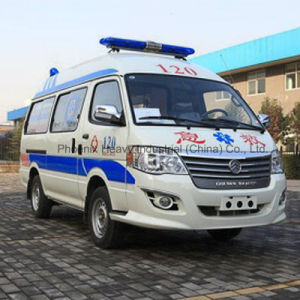 Lowest Price LHD Gasoline Engine Ambulance for Intensive Care pictures & photos