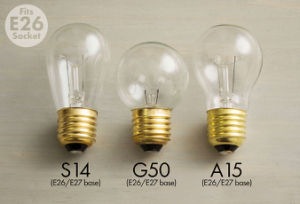 A15 G50 S14 Outdoor Patio String LED Globe String Lights pictures & photos