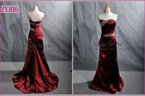 Long Beads Evening Gown Evening Dress