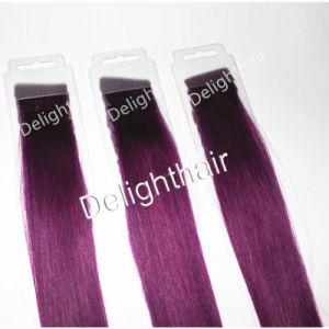 High Quality Virgin Brazilian Remy Human Tape Hair Extension Nhwe002