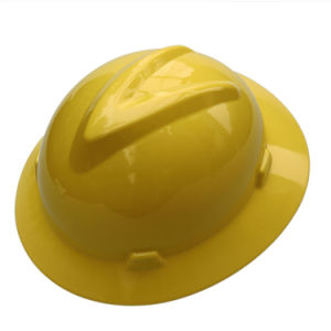 PE Work Helmet Safety Hard Hats with Adjustable Knob (450g) pictures & photos