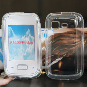for Samsung Galaxy Pocket S5300 Full Transparent Cell Phone Case