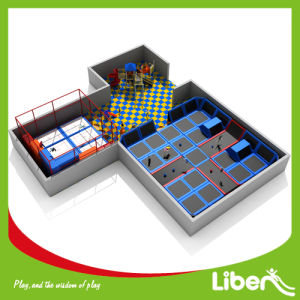 Liben Professional Factorys Indoor Trampoline Plaza with Outdoor Playground pictures & photos
