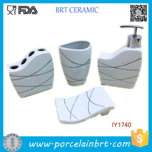 Fashion Life Ceramic 4PCS Bath Set Bathroom Accessories Modern pictures & photos