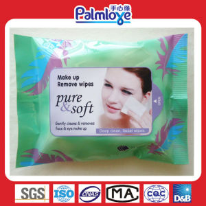 Lady Facial Make up Wet Wipes pictures & photos