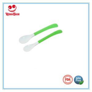 Long Handle TPR Baby Spoon pictures & photos