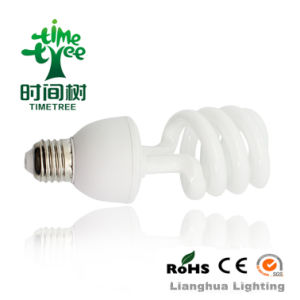 Half Spiral T4 9W 12W 15W 18W Energy Saving Lamp, CFL pictures & photos