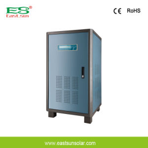 40kVA Three Phase Input and Single Phase Output UPS Power Supply pictures & photos