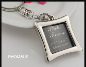 Personality Photo Frame Key Chain; Photos Can Be Put in pictures & photos
