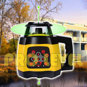 Electronic Leveling High Precision Green Rotary Laser Level (SRE-2010G) pictures & photos