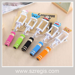 Wired Fold Camera Monopod Shutter Selfie Stick Mobile Phone Accessories pictures & photos