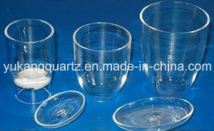 Transparent Quartz Crucible with Lid pictures & photos