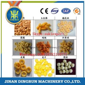 Automatic Cheese balls snacks food machine pictures & photos