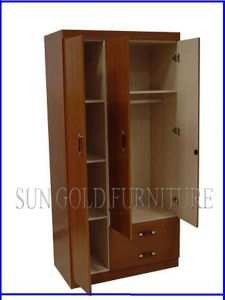 Cheap Wardrobe 2 Door for Hotel Bedroom Furniture (SZ-BF071) pictures & photos