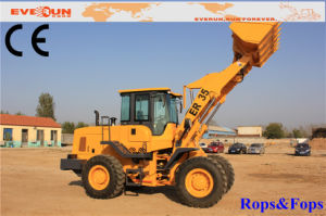 3 Ton Loading Capacity Hydraulic Articulated Wheel Loader with CE pictures & photos