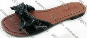 Fashion Summer Bowknot PU Women Slippers Shoes (A131401290)