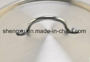 Alloy Aluminium Coated Non-Stick Sanding Pot Cookware Sets Sx-T-010 pictures & photos
