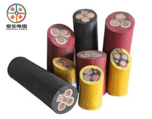 Good Quality Rubber Cable Used in Mine (cable for mining machine)