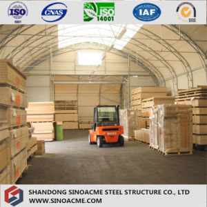 Arched Steel Building for Warehouse with Professional Experience pictures & photos