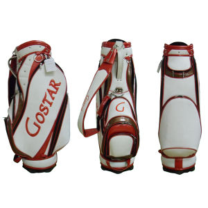 Gostar Deluxe PU Golf Staff Bag (GL-9142) pictures & photos