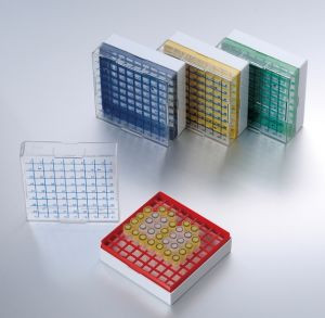 81-Well PC Plastic Freezer Boxes