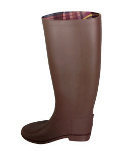 PVC Horse Riding Boots for Girls pictures & photos