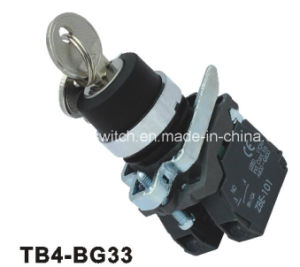 Xb4 Lh Position Key Push Button Switch pictures & photos