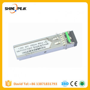 Gibabit Interface Converter Finisar 1511nm 80km CWDM Channel Optical Modules pictures & photos