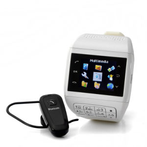 Watch Cellular Phone with Keypad - Dual SIM, Touch Screen, Bluetooth