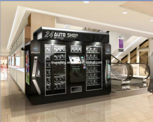 china shop automatic vending machine with robot arm. Black Bedroom Furniture Sets. Home Design Ideas