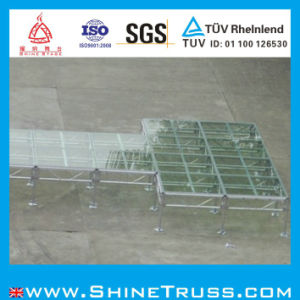 Aluminum Stage with Glass Transparent Stage pictures & photos