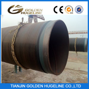 Three Layer PE External Coating Seamless Steel Pipe pictures & photos