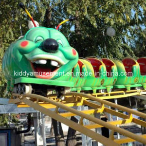 Outdoor Playground Kids Rides Fruit Worm Roller Coaster pictures & photos