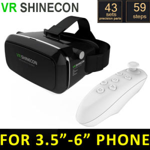 Vr Shinecon 3D Glasses for iPhone Smartphone + New Bluetooth Gamepad pictures & photos