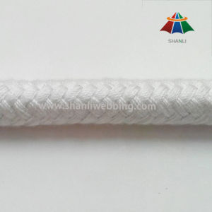 10mm 16 Strands White Braided Cotton Polyester Rope pictures & photos